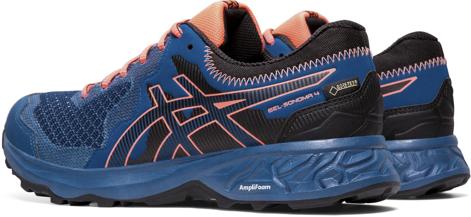 asics Gel Sonoma 4 G TX Schuhe Damen mako bluesun coral
